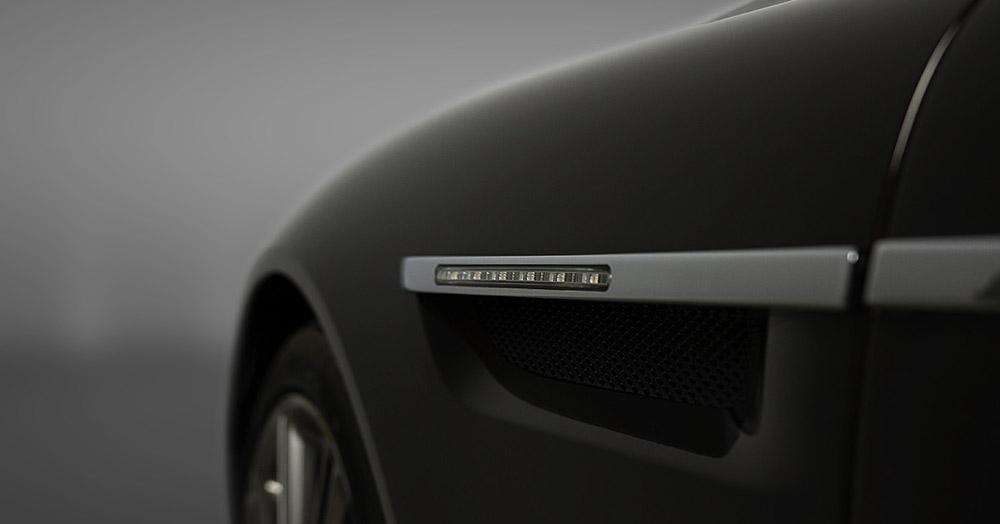 Aston Martin DB9 details