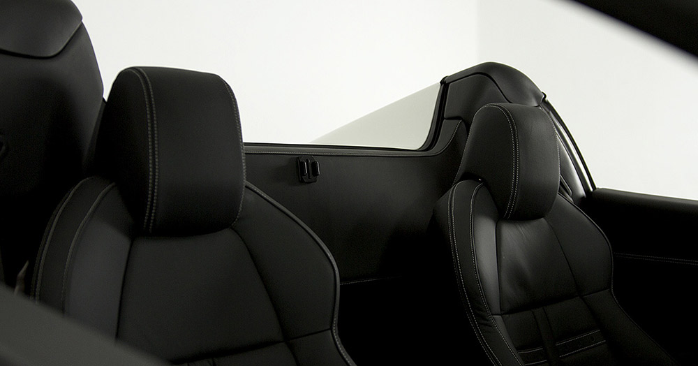 Ferrari 458 seating