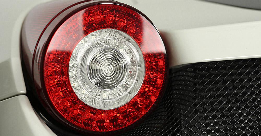 Ferrari 458 Spider headlights