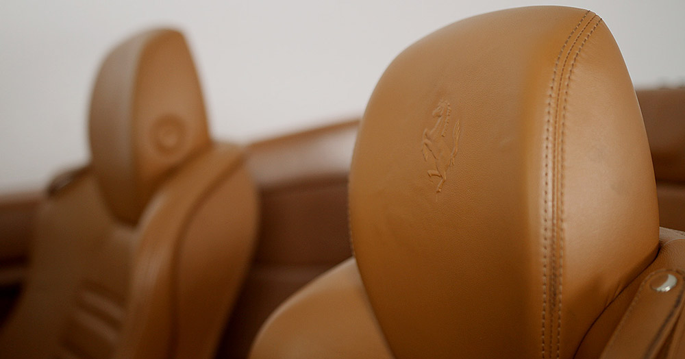 Ferrari California seating