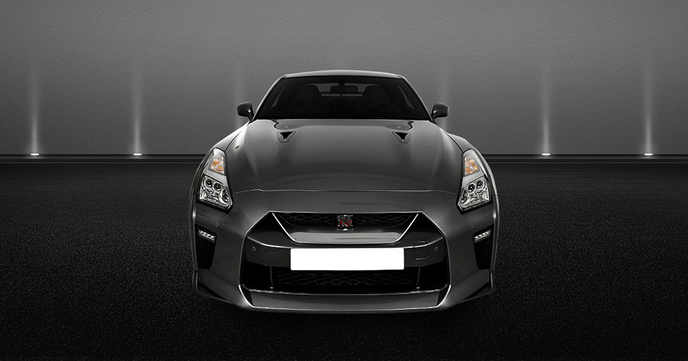 Nissan GT-R 2017 front views