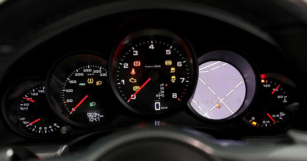 Porsche 911 Cabrio board panel